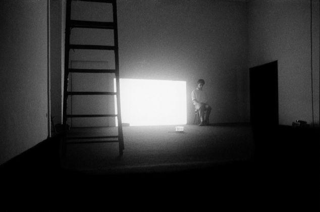 Mario Martone, Segni di vita, 1979. Napoli, Galleria Lucio Amelio. Photo Cesare Accetta