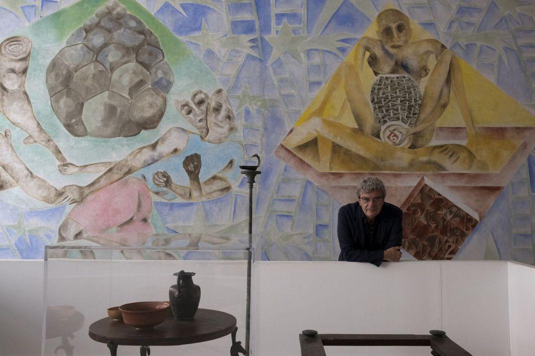 Mario Martone al Museo Madre, Napoli 2018. Photo Mario Spada