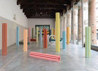 Matteo Nasini, Giardino perduto, installation view at Centro Arti Visive Pescheria, Pesaro 2018, photo Alberto Sereni