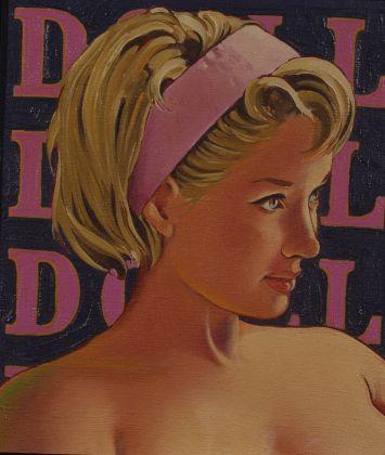 Mel Ramos, Doll, 1964, olio su tela