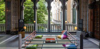 Memphis. Plastic Field. Tawaraya. Exhibition view at Fondazione Berengo Palazzo Franchetti, Venezia 2018. Photo credit Francesco Allegretto