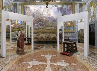 Michelangelo Pistoletto, Il Tempo del Giudizio. Photo Nicola Gronchi