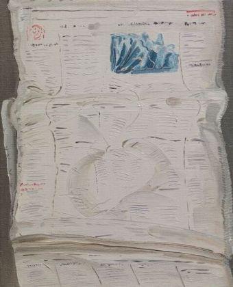 Michele Tocca, 04-04-14 (The Times), 2014, olio su tela