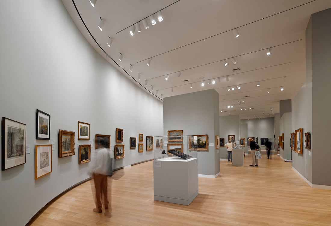 Museum gallery, Photo by Brian Suhr