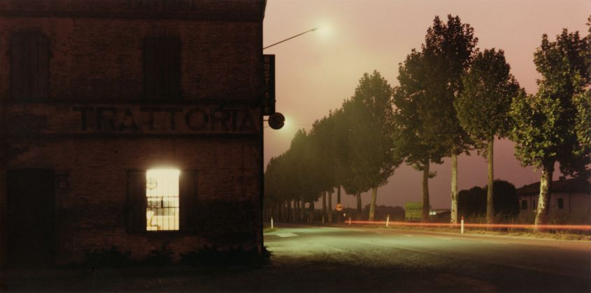 Nei pressi di Fidenza, 1985 © Eredi di Luigi Ghirri. Courtesy Editoriale Domus