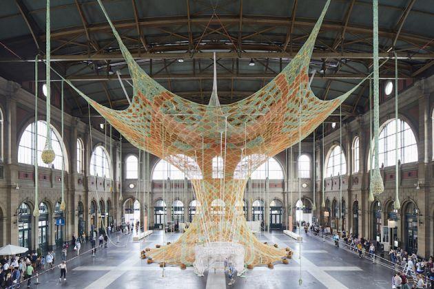 Ernesto Neto, GaiaMotherTree, Stazione di Zurigo