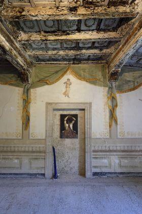 Nicola Samorì, exhibition view, Straperetana 2018, photo Gino Di Paolo