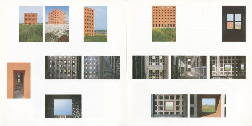 Pagine da Lotus international 38, 1983, Cimitero di san cataldo, progetto di Aldo Rossi, Modena, 1983 © Eredi di Luigi Ghirri. Courtesy Editoriale Lotus