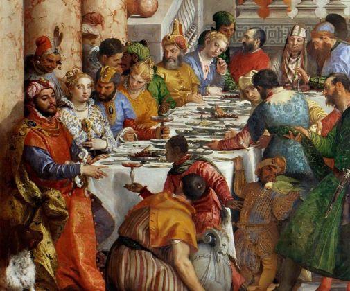 Paolo Veronese, Nozze di Cana, 1563 (dettaglio). Musée du Louvre, Parigi