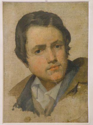 Pelagio Palagi, Ritratto di giovane, Collezioni d'Arte e di Storia della Fondazione Cassa di Risparmio in Bologna, 1815 ca., olio su cartone