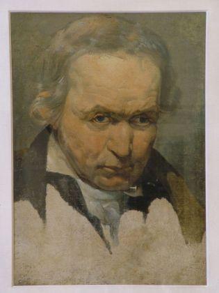 Pelagio Palagi, Ritratto virile, Collezioni d'Arte e di Storia della Fondazione Cassa di Risparmio in Bologna, 1815 ca., olio su cartone