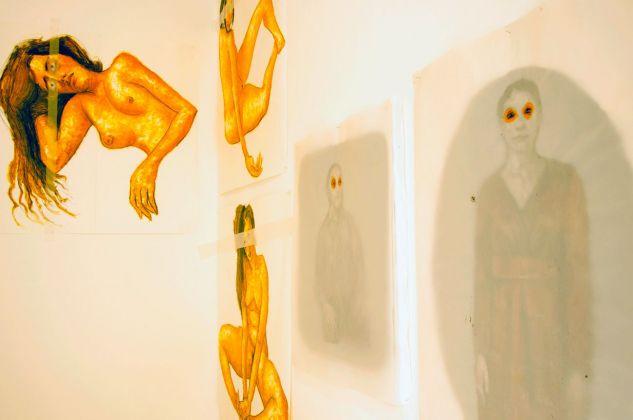 Pierluca Cetera, Giancarlo Nunziato. I Verbi Brevi. Exhibition view at Kunstschau Contemporary Place, Lecce 2018. Photo Grazia Amelia Bellitta