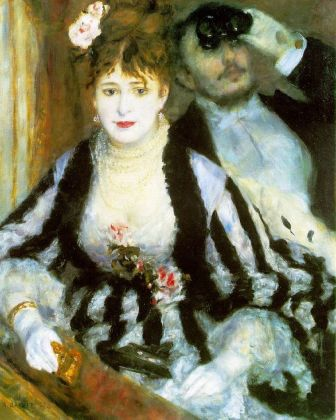Pierre-Auguste Renoir (1841-1919) La Loge (Theatre box), 1874. Oil on canvas 80 x 63.5 cm The Courtauld Gallery (The Samuel Courtauld Trust), London