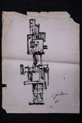 Pietro Guida, Disegno, 1961. Photo Antonio Leo