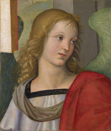 Raffaello Sanzio, Angelo, 1501. Brescia, Pinacoteca Tosio Martinengo © Fondazione Brescia Musei