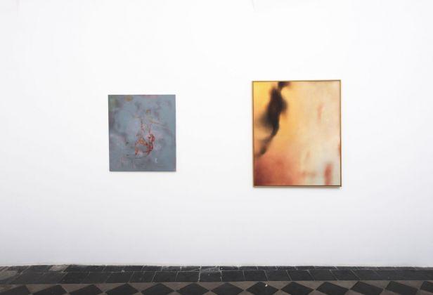 Reazione a catena. Differenti vie della pittura #1. Installation view at 1/9 unosunove, Roma 2018. Photo credits Giorgio Benni