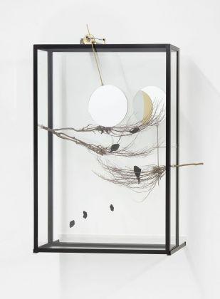 Rebecca Horn, Passing the Moon of Evidence II, 2017, courtesy Studio Trisorio