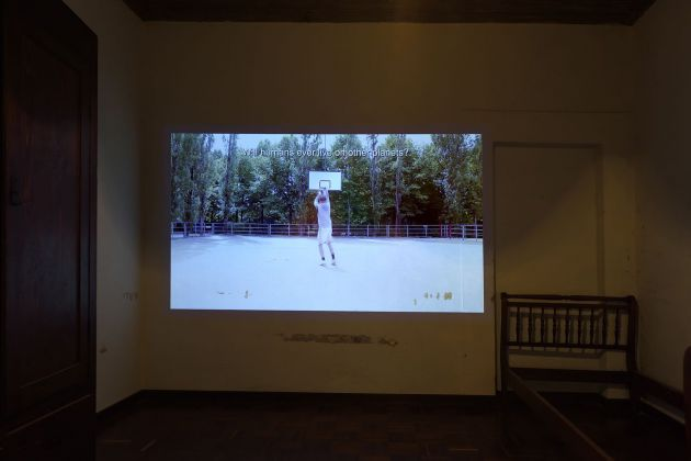 Roberto Fassone, exhibition view, Straperetana 2018, photo Gino Di Paolo