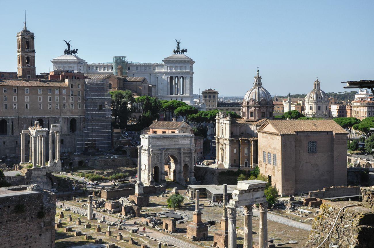 Roma, Fori Imperiali. Photocredits Irene Fanizza