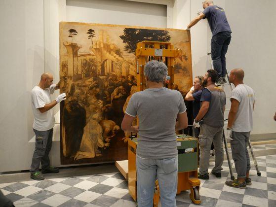Uffizi, Sala 35 - Nuova sala di Leonardo. Courtesy Gallerie degli Uffizi