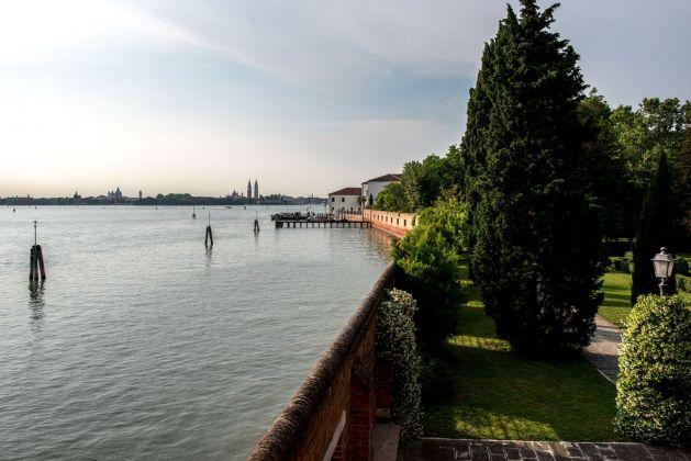 San Servolo, Venezia. Veduta della Laguna