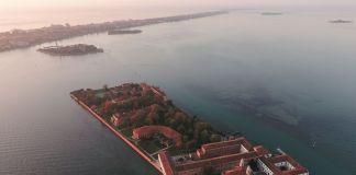 San Servolo, veduta aerea