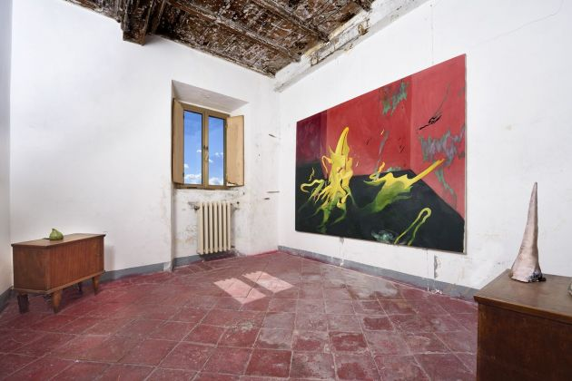 Valerio Nicolai, exhibition view, Straperetana 2018, photo Gino Di Paolo