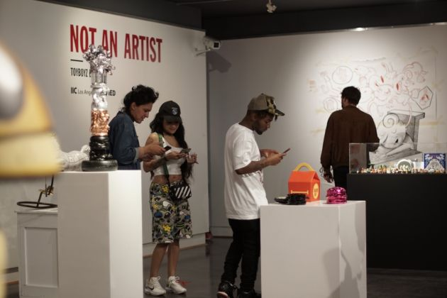 Mostra NOT AN ARTIST Toyboyz Edition, Istituto Italiano di Cultura, Los Angeles