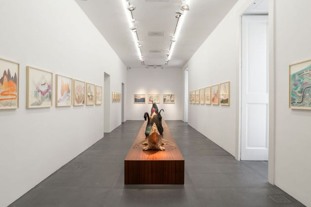 Wael Shawky, exhibition view at Lia Rumma, Napoli 2018