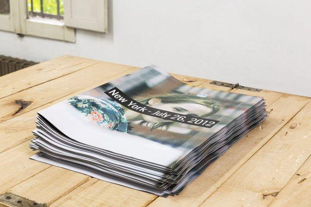 Yves Scherer, New York, July 26, 2012, artist book