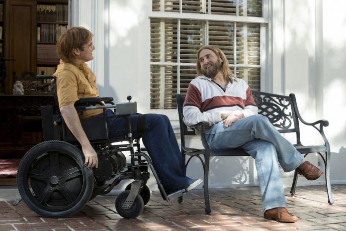 Joaquin Phoenix e Jonah Hill in Don't Worry di Gus Van Sant