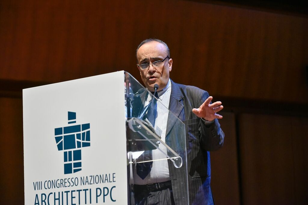 Alberto Bonisoli, Ministro per i beni e le attività culturali, al Congresso nazionale Architetti – Ph. Moreno Maggi