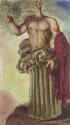 Alberto Savinio, Apollo, 1931. Collezione Merlini