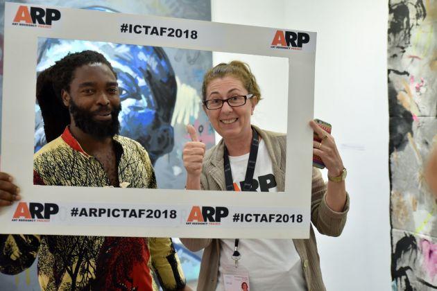 Alessandra Atti Di Sarro alla ICT Art Fair