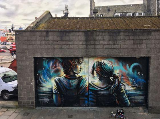 Alice Pasquini, Aberdeen, 2017