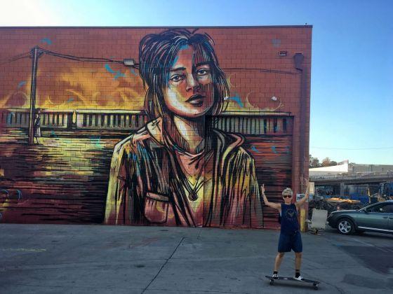 Alice Pasquini, Los Angeles, 2017