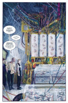 Aliens Sacrifice, disegni di Paul Johnson