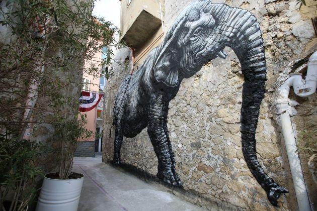 Andrea Bartoli, Farm Cultural Park, Favara. Murales dello street artist belga ROA