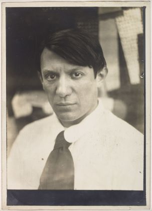 Portrait de Picasso dans l'atelier de la rue Schoelcher, Paris, en [1915 1916]