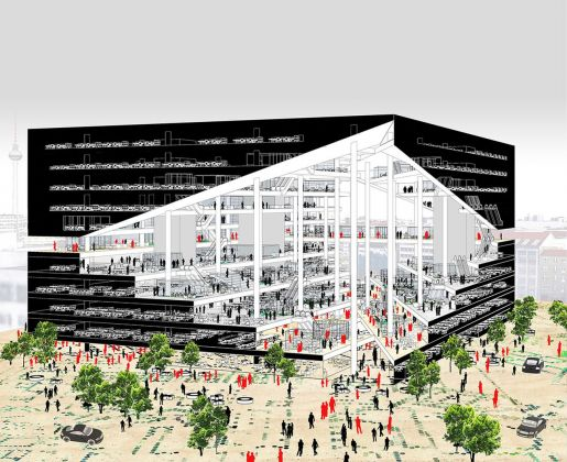 Axel Springer, Campus. Image courtesy of OMA