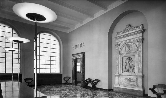 Brera ricostruita. L'ingresso e le sale inaugurate il 9 giugno 1950. Milano, Laboratorio fotoradiografico della Pinacoteca di Brera