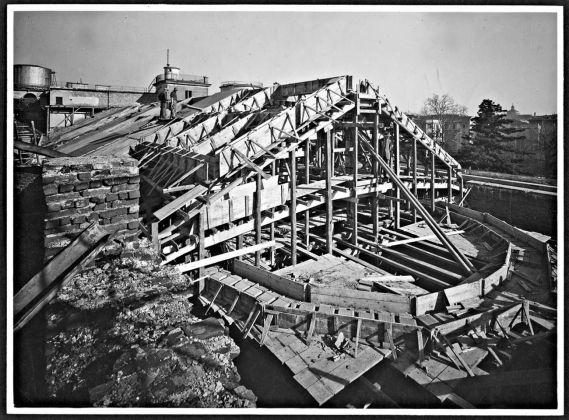 Brera. La ricostruzione, 1948 50. Milano, Laboratorio fotoradiografico della Pinacoteca di Brera