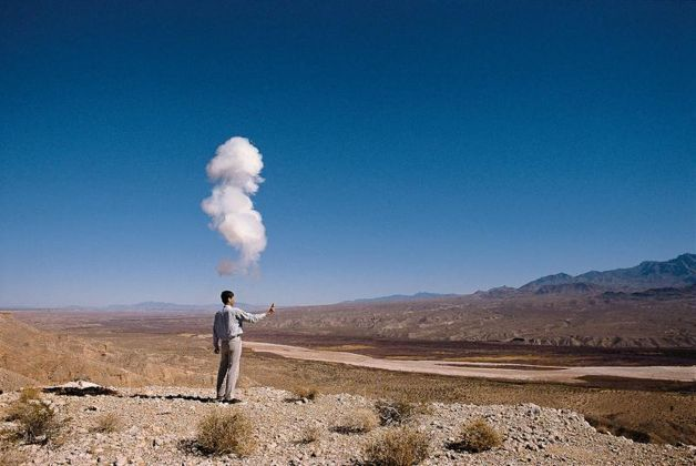 Cao Guo Qiang, The Century with Mushroom Clouds, Nevada, 1996