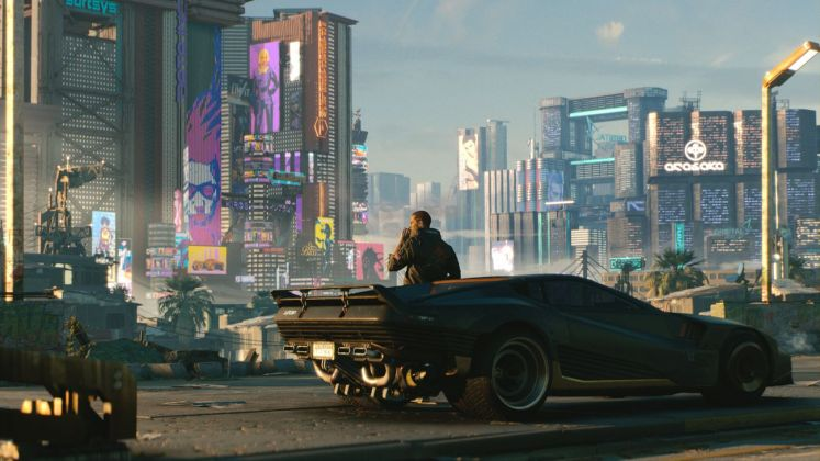 Cyberpunk 2077. A mercenary on the rise