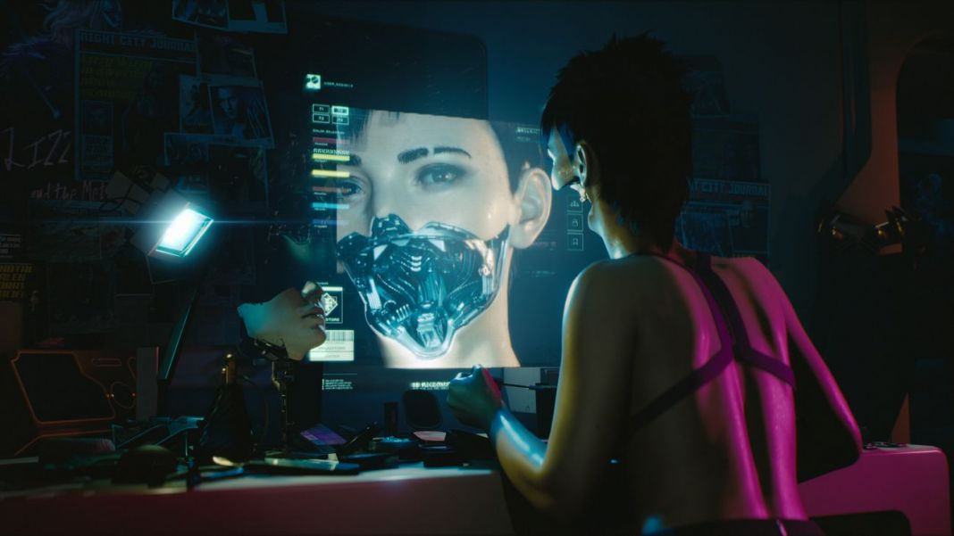 Cyberpunk 2077. Beautiful and deadly