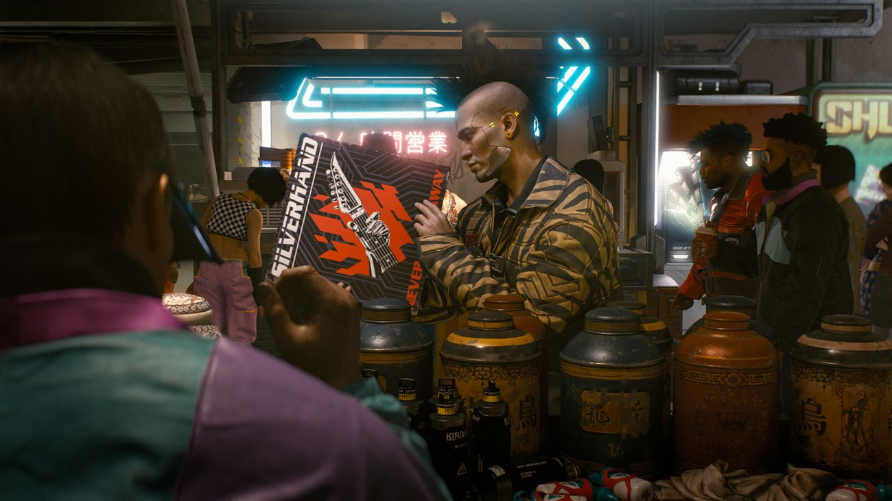 Cyberpunk 2077. Gotta know where to look