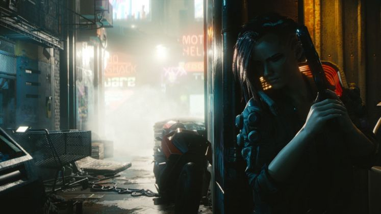Cyberpunk 2077. Just around the corner