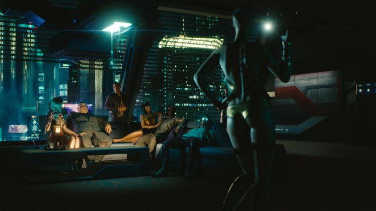 Cyberpunk 2077. The life of luxury