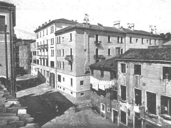 E. Zorzi, Santa Marta. Case vecchie e case nuove in calle larga Cà Matta, pubblicata dall'autore nel 1931