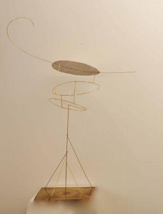 Fausto Melotti, Teorema, 1971. Collezione Merlini